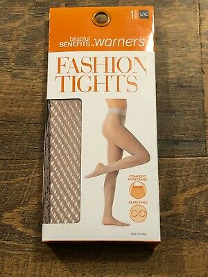 a5a3a48aaf9da Lot Of 2 Blissful Benefits by Warner's Fashion Tight Seam Free Tawny Size  ...