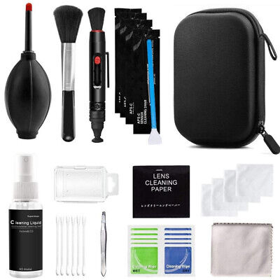 Professional DSLR Camera Lens Cleaning Kit For Sony Nikon Canon Panasonic SLR