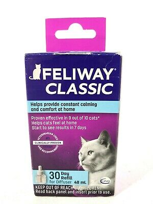 Ceva Feliway Plug-in Diffuser Refill for Cats 48ml 30 Day Refill
