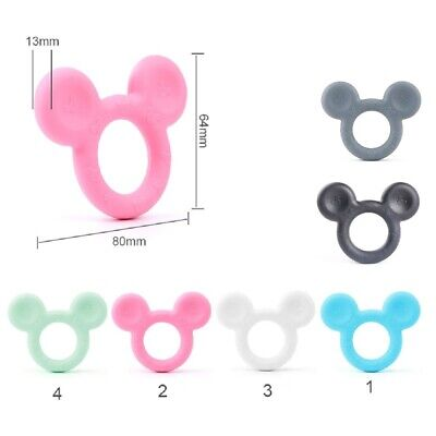 Mickey Silicone Baby Teether Infant Soother Chewable Teething Toy BPA Free