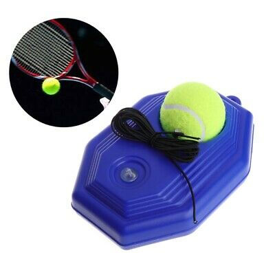 Tennis Ball Trainer Tool Racket Practice Octagon Baseboard Elastic Rope us