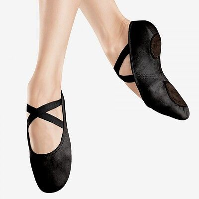 Bloch 220 Black Canvas Infinity Stretch Ballet Dance Shoes