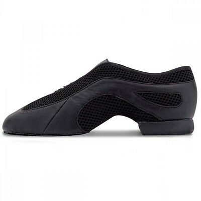 Bloch 485 Black Slipstream Slip On Jazz Dance Shoes - UK 2 3 4 5