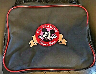 Disney pin bag Mickey Mouse 4 large zippered pouches great 4 the parks