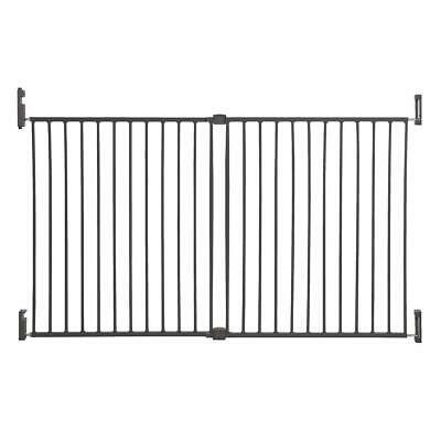 Dreambaby Broadway Xtra-Wide Gro-Gate - Charcoal