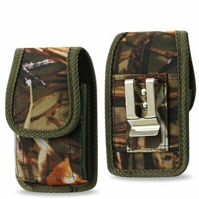 Camouflage Rugged Metal Clip Case fits Cingular Flip 2 Phone