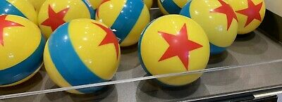 New Disney Parks Mini Pixar Ball Bouncy Rubber Inflated Ball