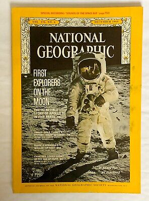 National Geographic Magazine, December 1969 Apollo 11 Cover