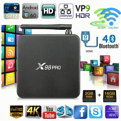 T95K PRO TV Box 2G 16GB Amlogic S912 Octa Core Android 6 0