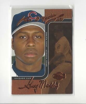 2006 Co-Signers Changing Faces Bronze #72A Juan Pierre/Greg Maddux Cubs /150