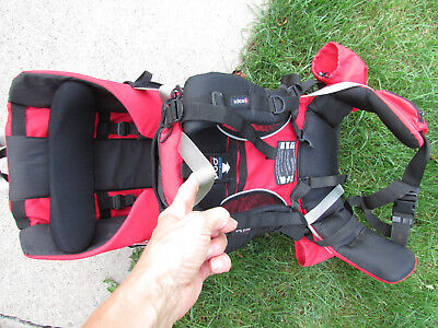 Red//Charcoal Phil /& Teds Escape Backpack Carrier New Free Shipping!