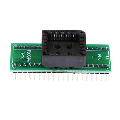 Plcc44 to dip40 usb universal programmer ic adapter tester socket In CA