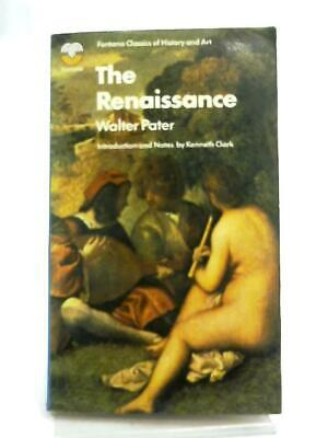 The Renaissance, Studies in Art and Poetry (Walter Pater - 1971) (ID:29620)