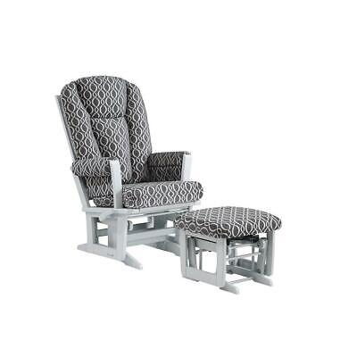 Dutailier/Ultramotion - Modern Glider Multiposition/Recline and Ottoman Combo -