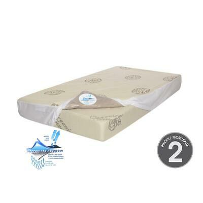 Kidicomfort Delicate Touch Crib Mattress with Mattress cover included (2 piece
