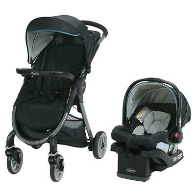 Graco FastAction Fold 2.0 Travel System with SnugRide Click Connect 35 Infant