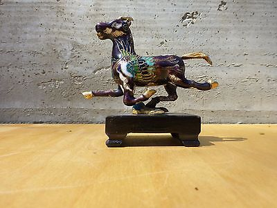Superb Small closionne figurine of a horse-chinese ca.1970s [Y7-W7-A9]