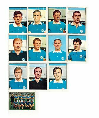 Calciatori Panini 1965-66 Stock 12 Stickers Napoli Sivori Juliano