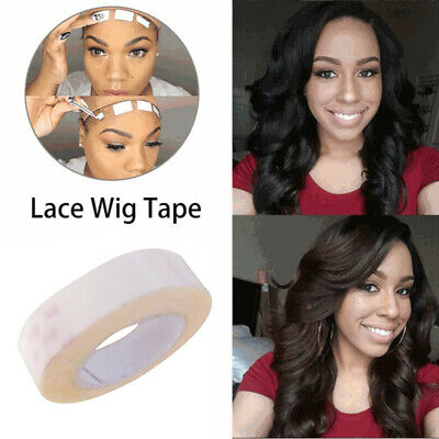 9.8ft Roll Double Side Lace Wig Glue Tape Adhesives Skin Hair Extensions Tapes