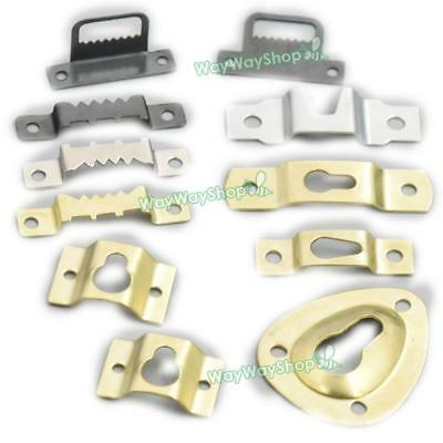 Arch Frame Metal Picture Photo Mirrors Turn Button Hanger Hanging With Screw Fix
