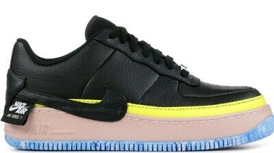 finest selection e95c0 503a9 Nike Air Force 1 Jester XX SE Uk 5 Black Sonic Yellow Bnwt Ladies AT2497 001