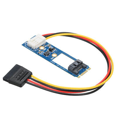 M.2 NGFF to SATA III to 4Pin Board PCB NGFF Converter Card Adapter w/Cable H8R0