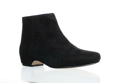 04e5b4a79f29 NINE WEST WOMENS Huggins Suede Synthetic Ankle Boot Dark Brown Size ...