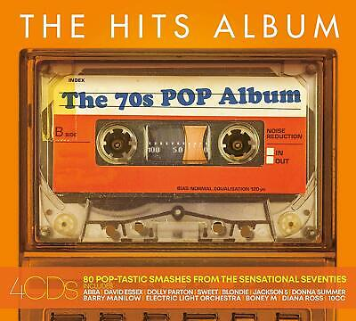 The Hits Album - The 70's Pop Album - Various Artists (CD 2019) Like New
