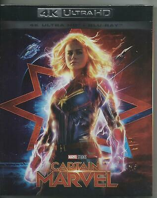 Captain Marvel 4K Ultra HD (2019) 2 Blu Ray dal 26/06/2019