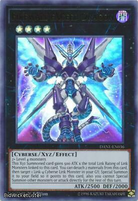 Firewall eXceed Dragon NM 1st Ed YuGiOh DANE 036 Dark Neostorm Card Ultra Rare