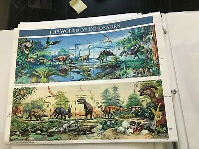 Scott #3136     Us Souvenir  Sheet  Dinosaur  32 Cent      Mnh. At Face