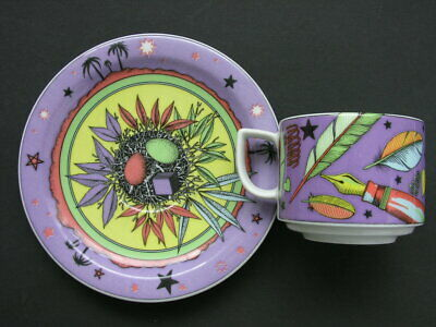 BOPLA * Cup & Saucer * PLUME & OASIS * Series PARADISE - Langenthal