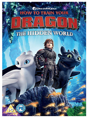How to Train Your Dragon - The Hidden World DVD Region 2 - 2019 - Brand New