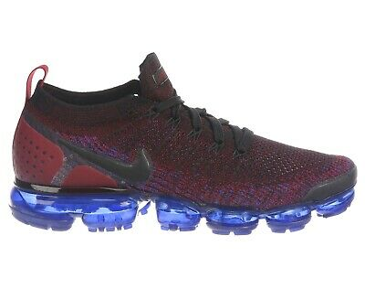 Nike Air Vapormax Flyknit 2 Mens 942842-006 Team Red Blue Running Shoes Size 11