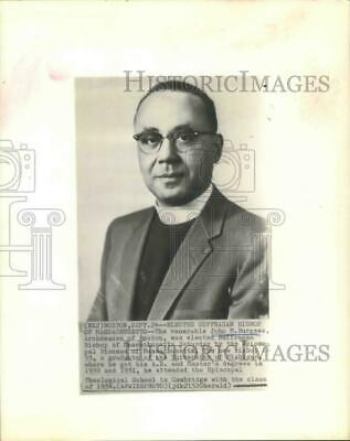 1962 Press Photo John Burgess, Episcopal Suffragan Bishop of Massachusetts