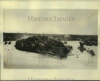 1939 Press Photo British prepare for emergency at the Island of Malta - Aerial