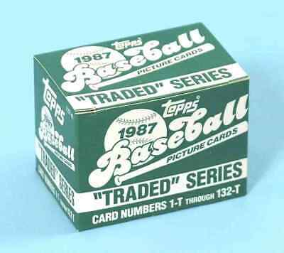 1987 TOPPS TRADED TEAM SETS - U Pick LOW PRICES YANKEES METS MADDUX ROOKIES ++