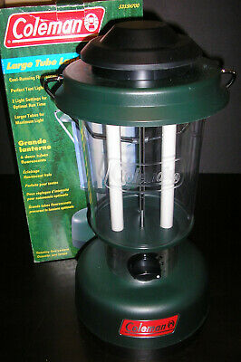 COLEMAN TWIN TUBE Fluorescent Lantern in Box Model 5355-700 Camping NEW NIB