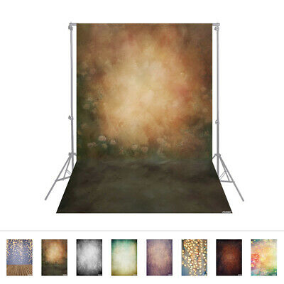 Andoer 1.5 * 2.1m/5 * 7ft Photography Background Retro Wall Flower Backdrop L8F2
