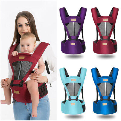 Baby Carrier Universal Seat Stool Breathable Waist Seat Wrap Belt Sling Backpack