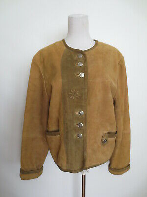 Traditional Jacket Janker G.S.Traditional Costume 38/40 (36) Leather Deerskin?