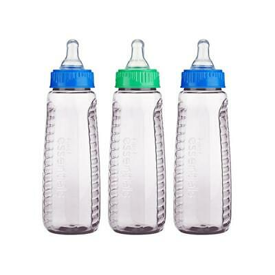 First Essentials by NUK Clear View® Bottle, 9 oz., Medium Flow, 3-Pack