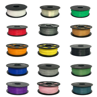 3D Printer Filament PLA 1.75mm/3.0mm 1KG/Roll Colours Quality Engineer Drawing