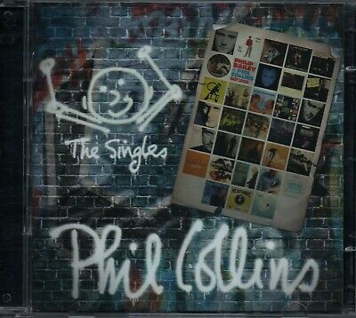 PHIL COLLINS - The Singles - 2xCD Album *Best Of**Greatest Hits**Collection*