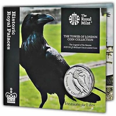 Legend of the Ravens 2019 UK £5 Brilliant Uncirculated Coin