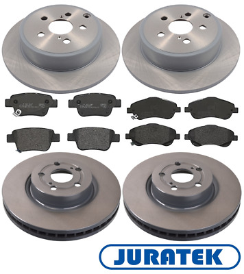 For Toyota - Avensis 2.0 D-4D T2 2003-2008 Front & Rear Brake Discs & Pads Set