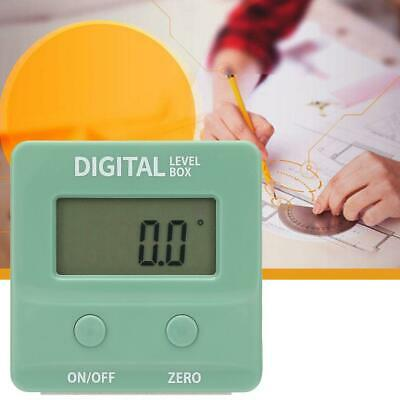 Mini Digital LCD Display Angle Finder Protractor ABS Casing Magnetic Base 4*90°
