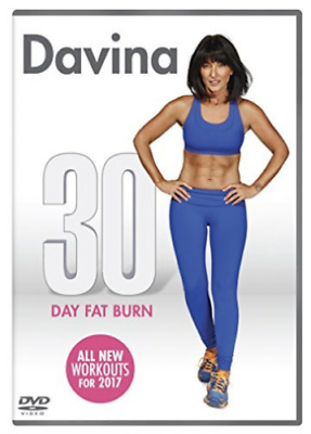 Davina - 30 Day Fat Burn [DVD]  NEW AND SEALED, WITH FREE POST.