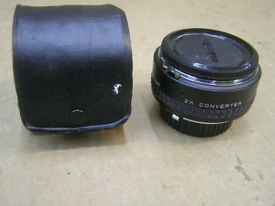 Focal 2x Tele-Converter For Minolta MC