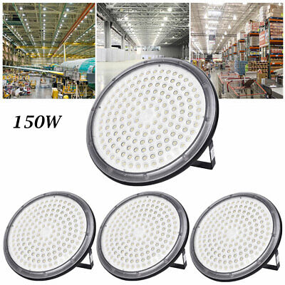 4X 150W UFO DEL High Bay Light Industriel Lampe Entrepôt Commercial éclairage